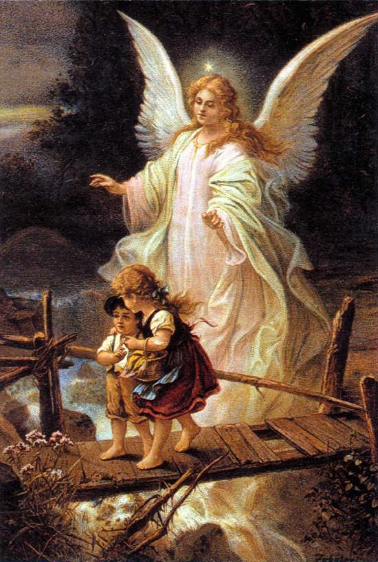 Angel de la Guarda - Puente niños