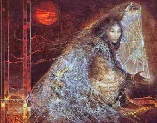 Atrapasueños - Mujer Araña