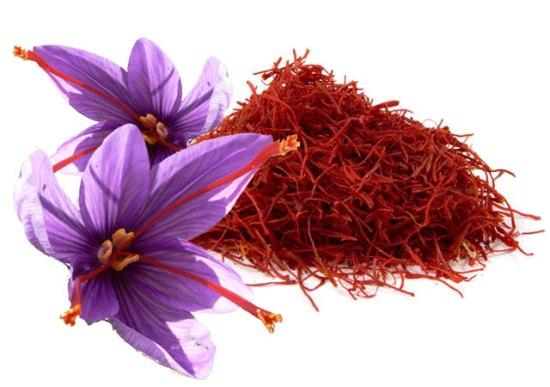 Azafrán - Flor y hebras