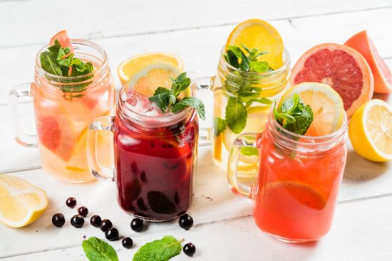 Bebidas refrescantes para este verano