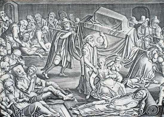 Brujas Reales - Plaga de Londres