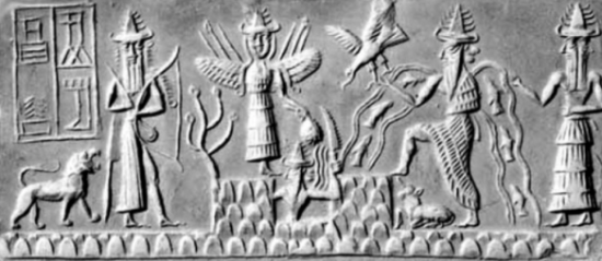 reyes sumerios