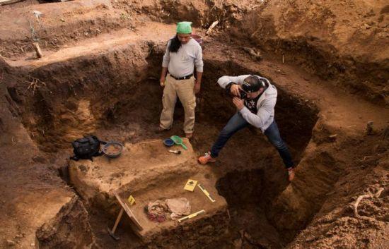descubrimiento de la momia, arqueología