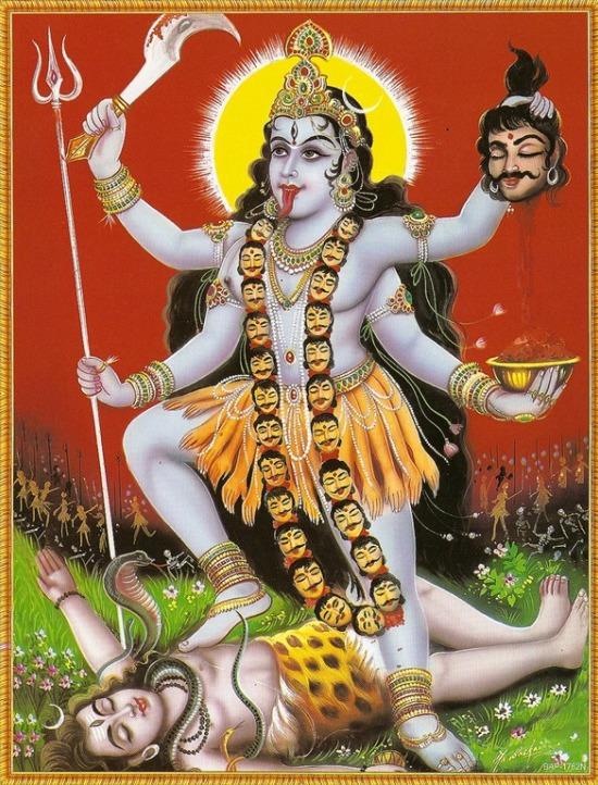 Diosas Hindúes - Kali