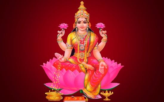 Diosas Hindúes - Lakshmi