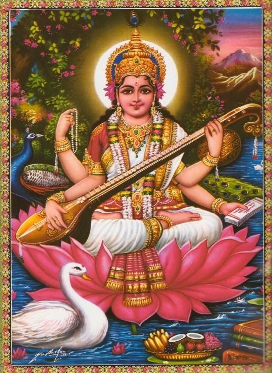 Diosas Hindúes - Sarasvati