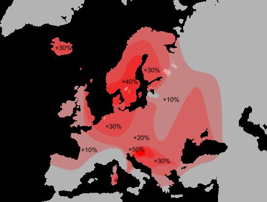 Factor Rh Negativo - Mapa