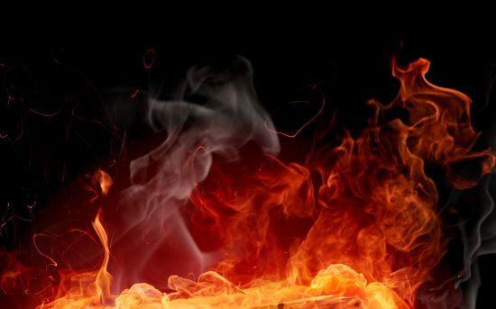 fuego dafnomancia