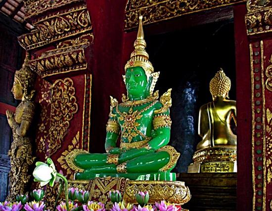 Jade verde - Buda