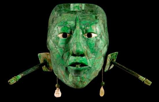 Jade verde - Máscara