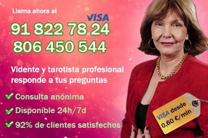 las mejores Tarotista por teléfono de España VISA - Julia