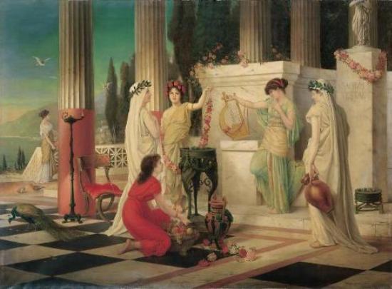 Festivales romanos de la muerte - Vestales