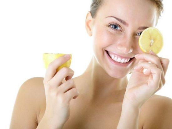 limon manchas piel