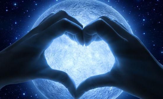 luna llena amor deseos