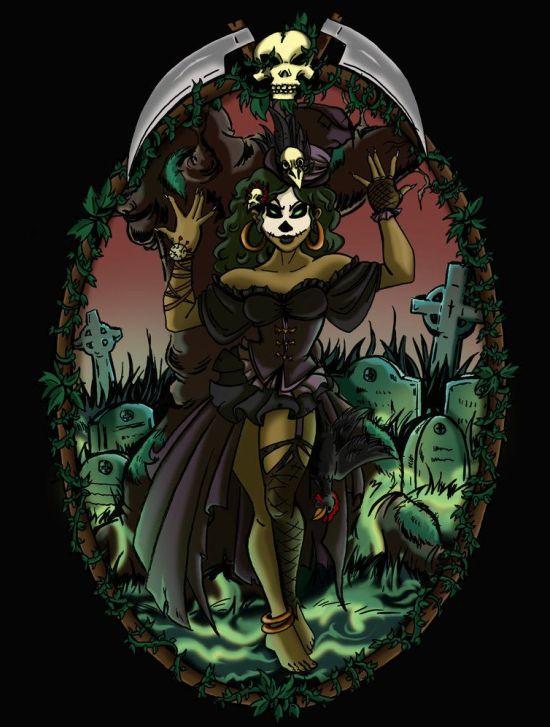 Maman Brigitte diosa vudú