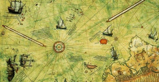Oopart - Mapa de Piri Reis