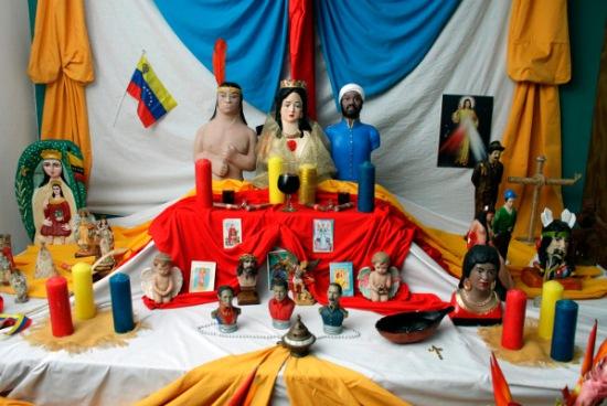 Maria Lionza - Altar