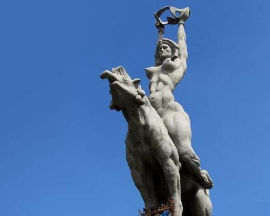 Maria Lionza - Estatua