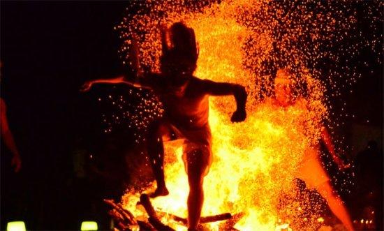 Maria Lionza - Ritual fuego