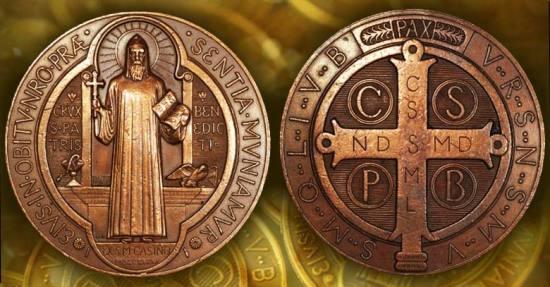 Medalla de San Benito - Detalles