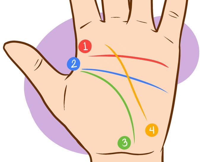 Quiromancia - Líneas de la mano