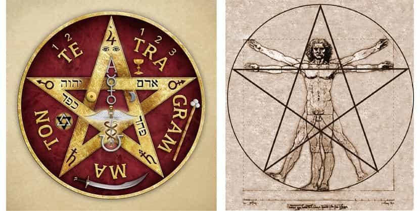 Tetragrammatron o Pentagrama