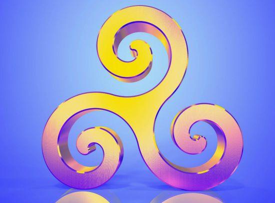 triskel, símbolos celtas