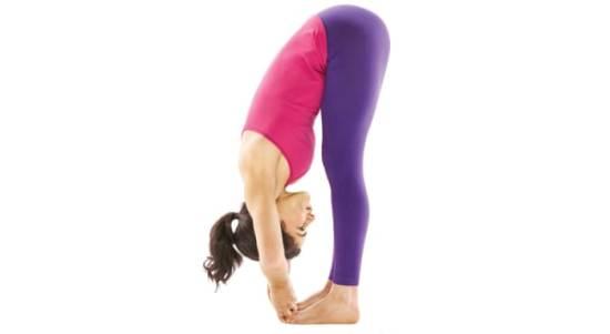 Postura de Yoga - Dedo gordo