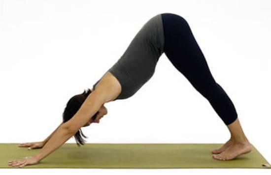 Postura de Yoga - Perro mirando abajo