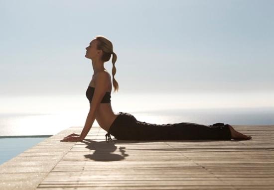 Postura de Yoga - La cobra