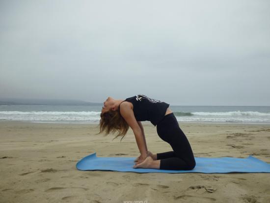 Postura de Yoga - El camello
