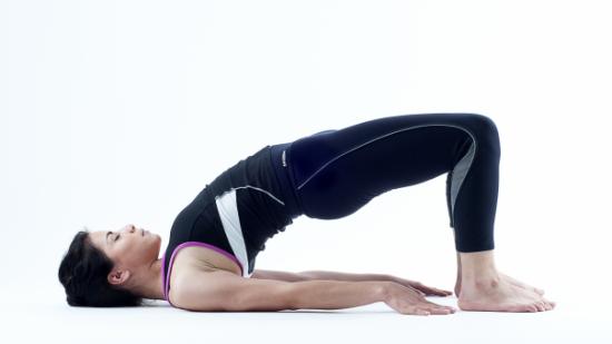 Postura de Yoga - El puente