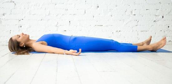 Postura de Yoga - Descanso