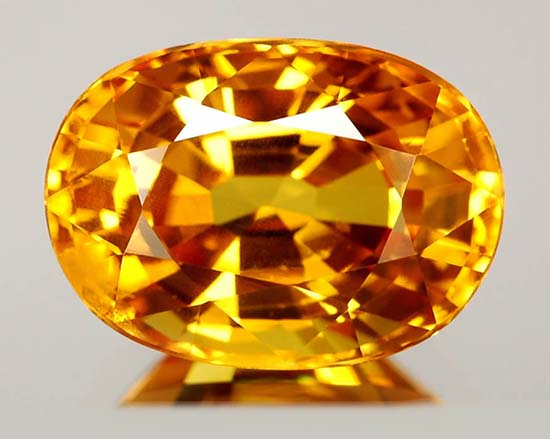 zafiro amarillo