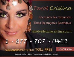 Spanish Tarot Estados Unidos toll free