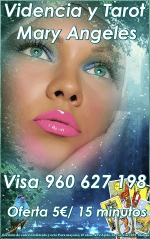 Tarot Mary Angeles Visa 960627198 desde 5€/ 15 m